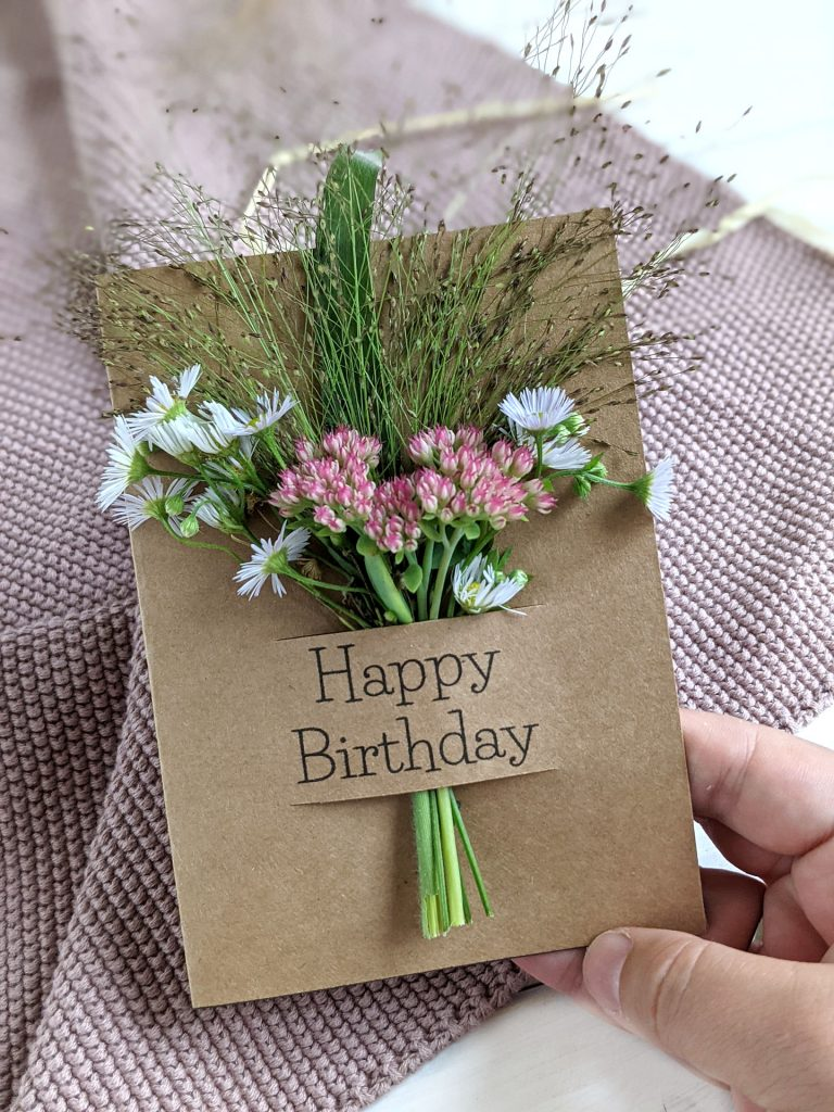 Geburtstagskarten selber basteln