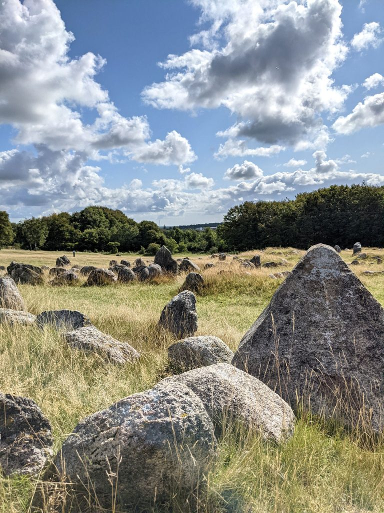 Wikingergräber Dänemark