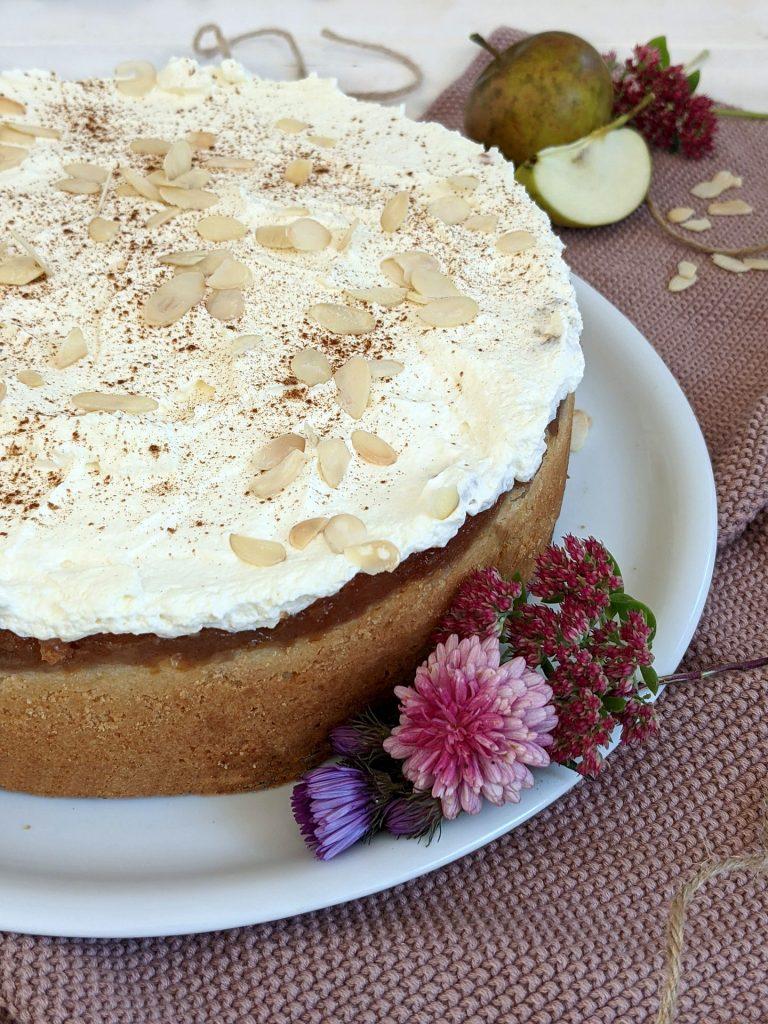 Apfelkuchen mit Apfelsaft Rezept