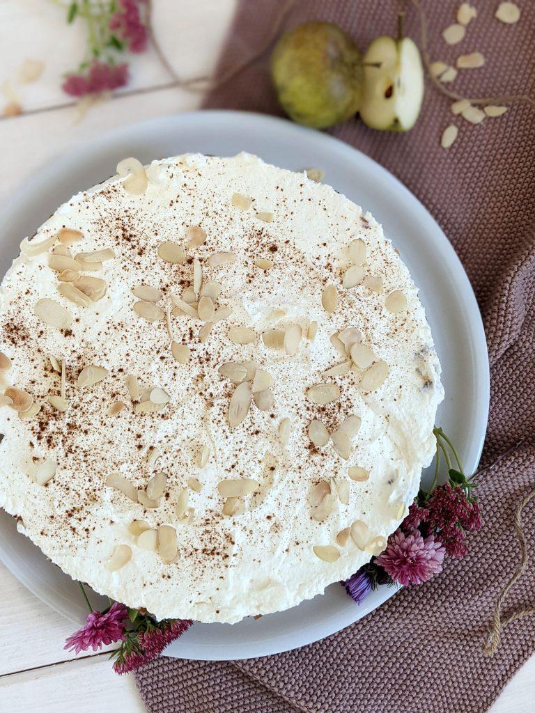 Rezept Apfelkuchen mit Apfelsaft